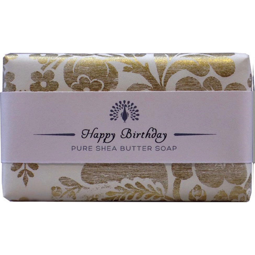 Happy Birthday Wrapped Occassion Soap