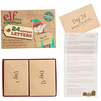 Elf For Christmas Advent Letters