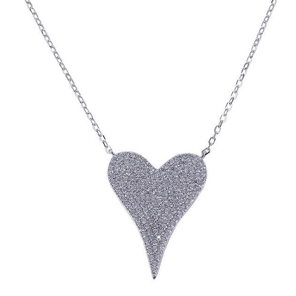 Silver Amia Love Necklace
