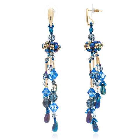 Blue Midnight Talisa Chandalier Earrings