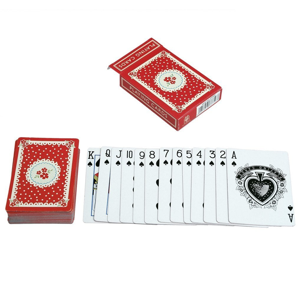 Vintage Doily Playing Cards