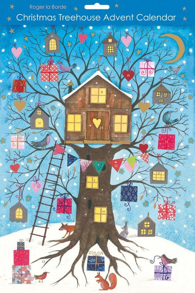 Christmas Tree House Advent Calendar