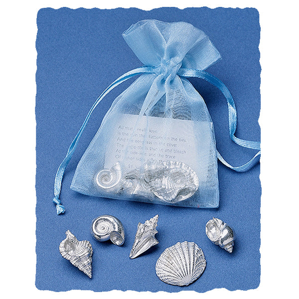 Sea Shells Pocket Charms