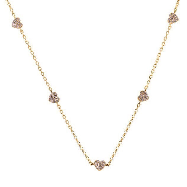 Gold Amada Love Charm Necklace