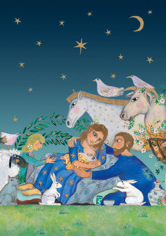 Nativity Christmas Cards - Pack of 5