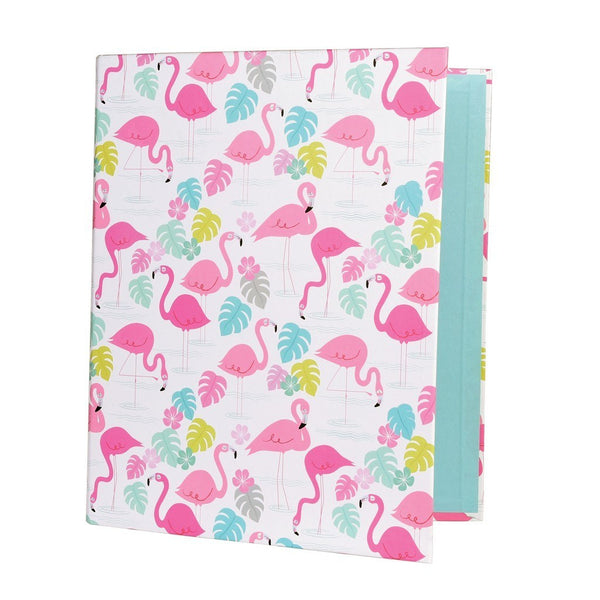 Flamingo Ring Binder