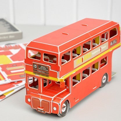 Make Your Own Red London Bus