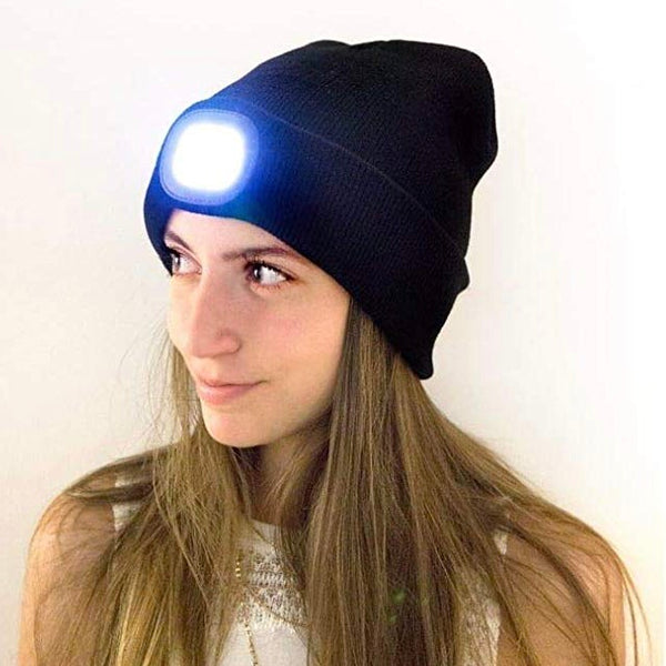 LED Light Up Beanie Hat