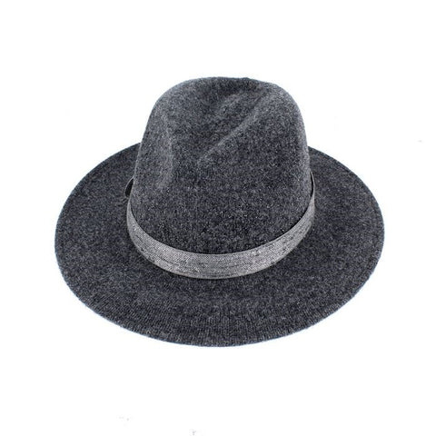 Grey Sparkle Fedora Hat Grey Sparkle Fedora Hat 75bf9255384e