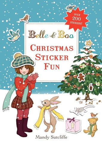 Belle & Boo Christmas Sticker Fun Book