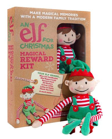 Elf For Christmas Boy With Magical Reward Kit
