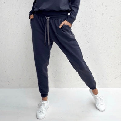 Navy Tess Jogging Pants