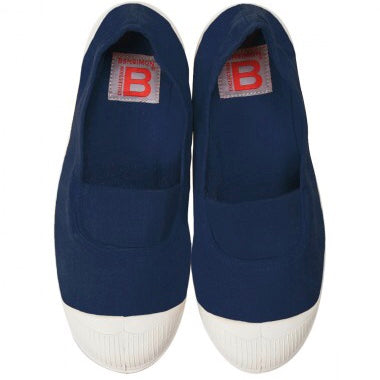 Blue Navy Bensimon Pumps