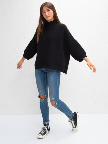 Black Vicki Jumper