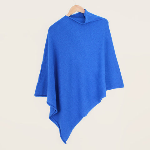 Blue Royal Tilley Poncho