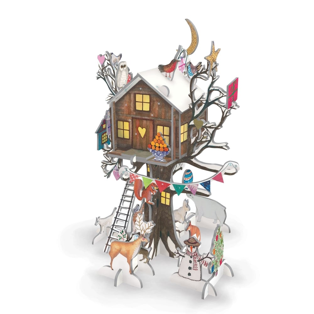 Pop & Slot Christmas Treehouse Advent Calender