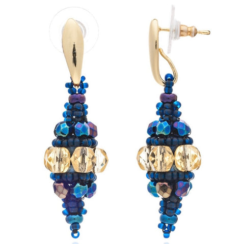 Blue Midnight Fiorella Bauble Earrings