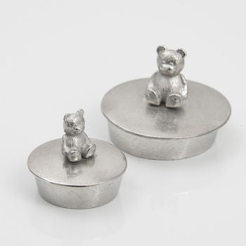 Teddy Trinket Box Extra Small