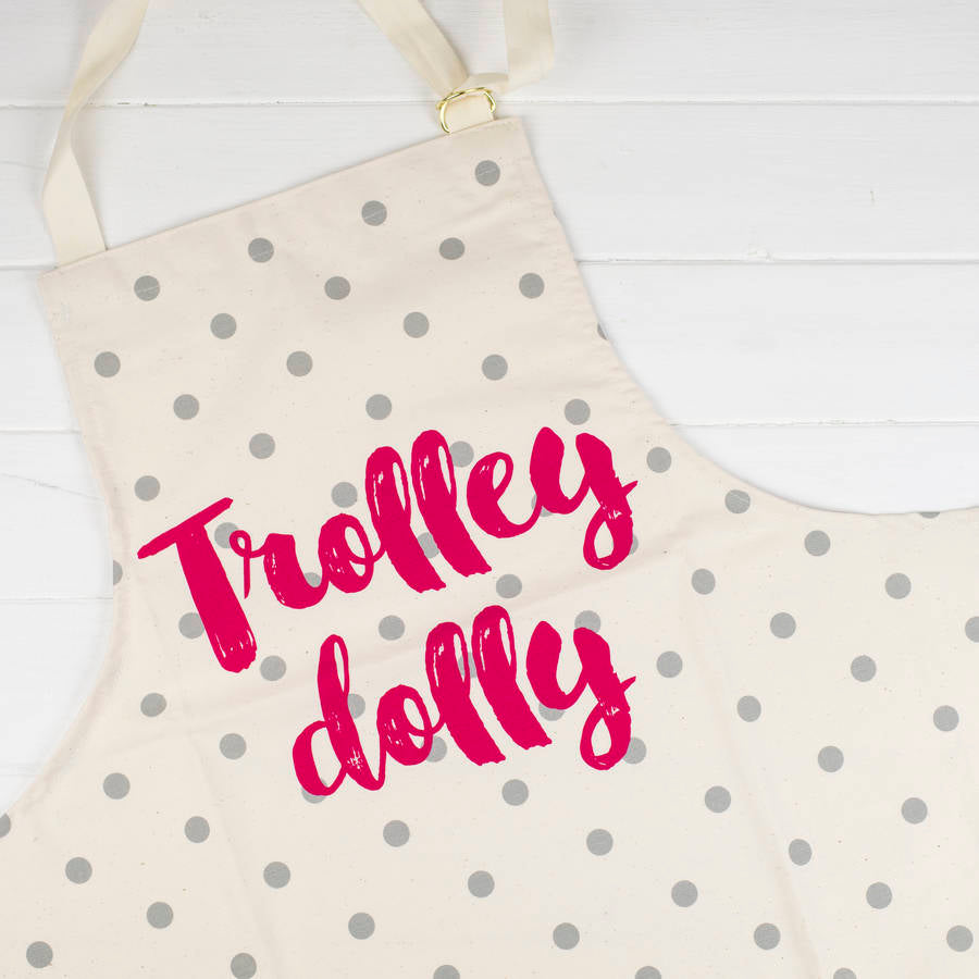 Funny Apron For A Trolley Dolly