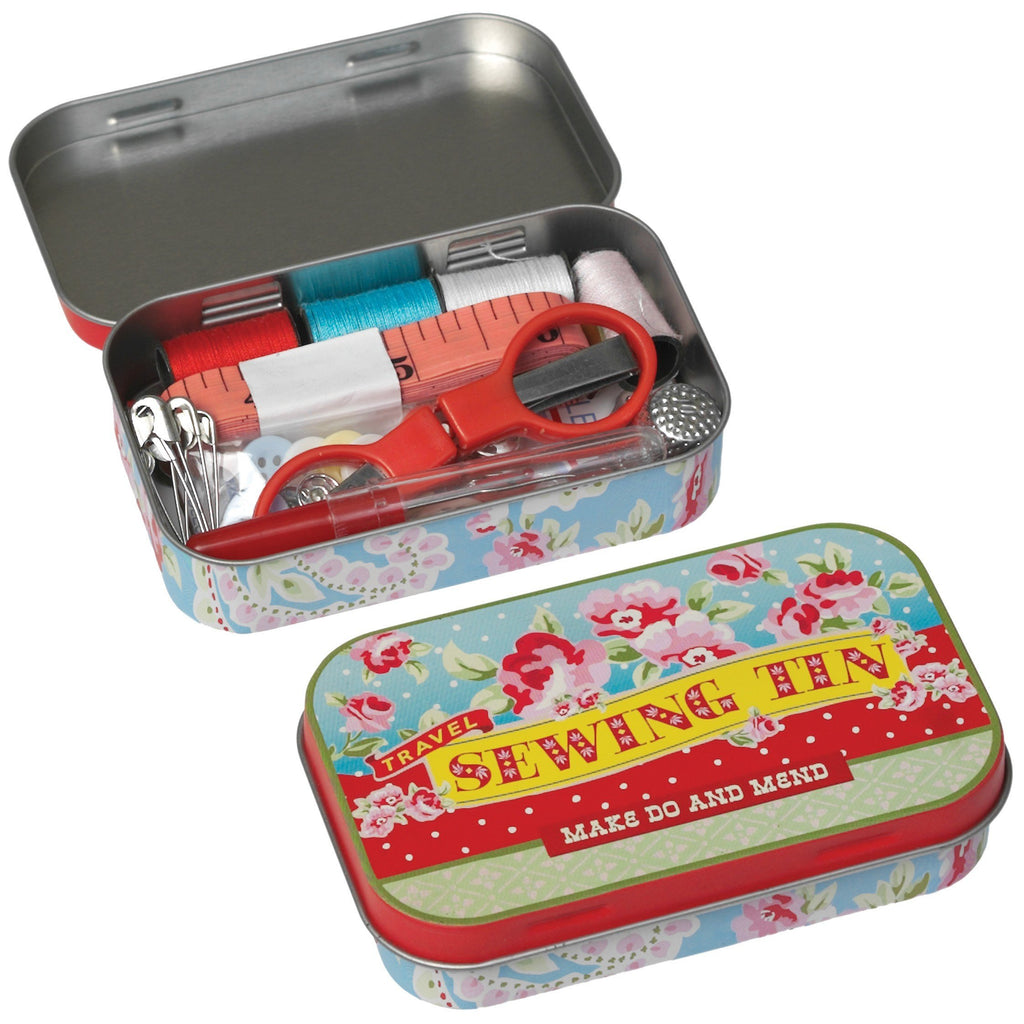 Travel Sewing Tin