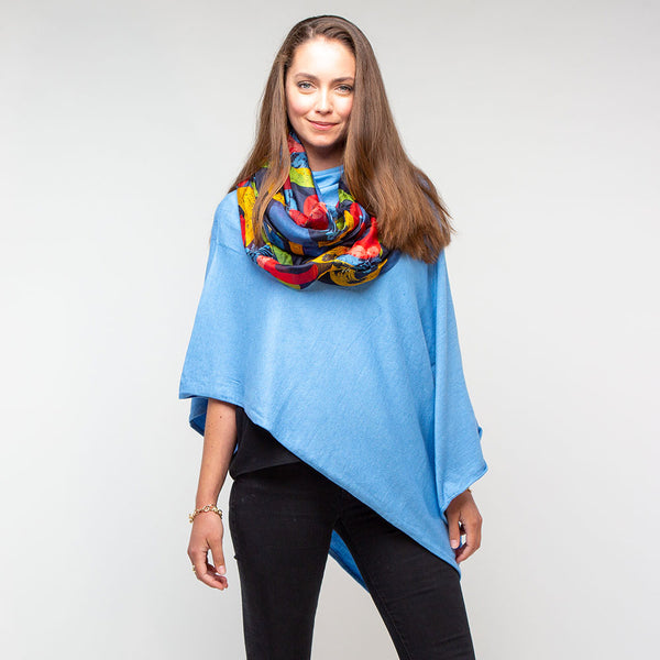 Blue Ocean Tilley Poncho