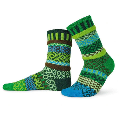 Earth Mismatched Knitted Socks