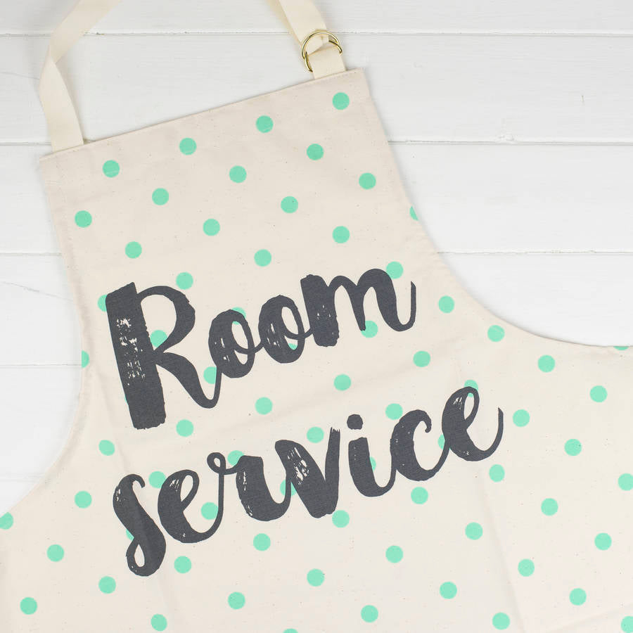 Funny Apron Room Service