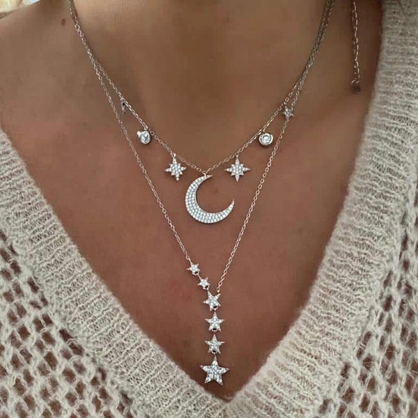 Little Lights Silver Necklace