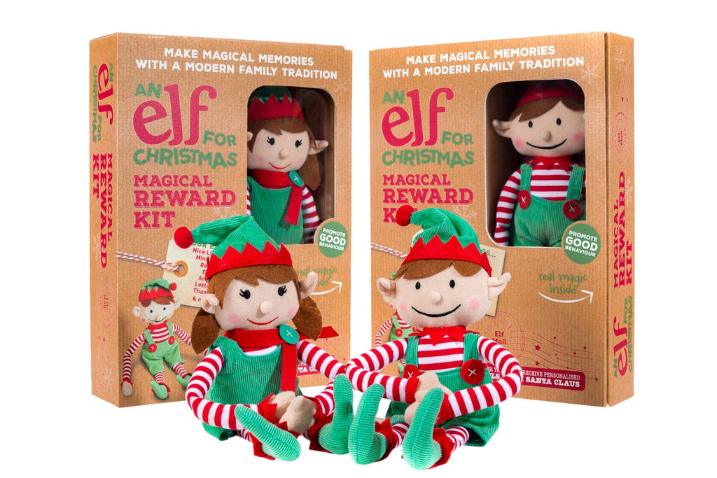 Elf For Christmas With Magical Reward Kit