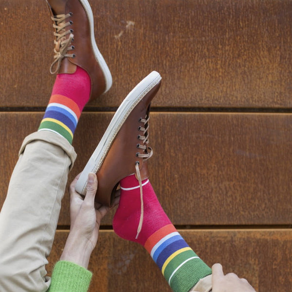 Mexican Stripe Mens Socks