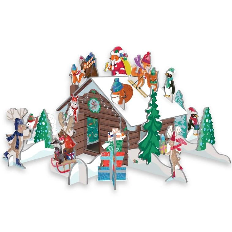 Pop & Slot Chalet Snow Advent Calender