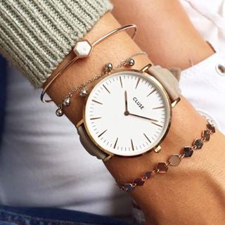 Hazelnut La Boheme Rose Gold CLUSE Watch