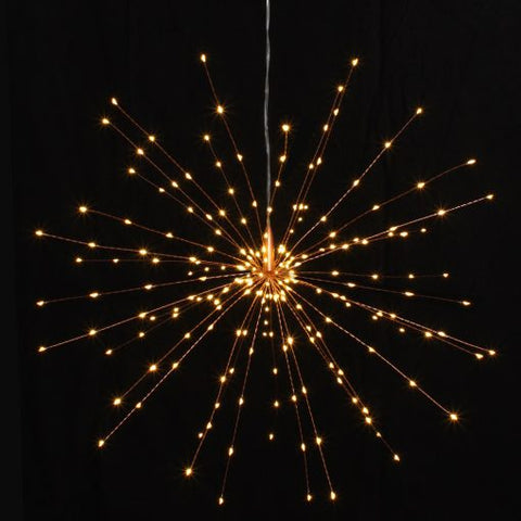 Copper Starburst Light Large