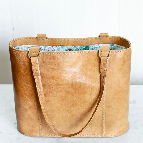 Savannah Leather Shopper