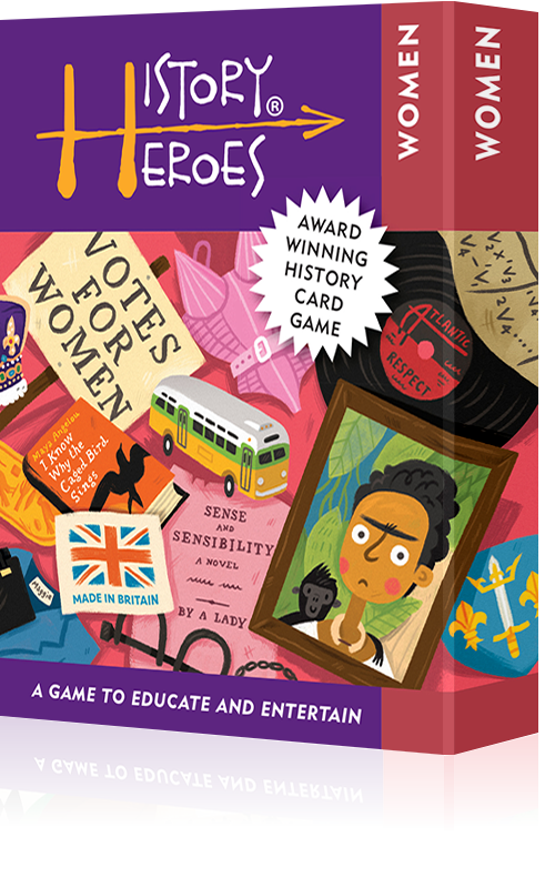 Women Heroes in History Quiz Card Game - Award Winning!