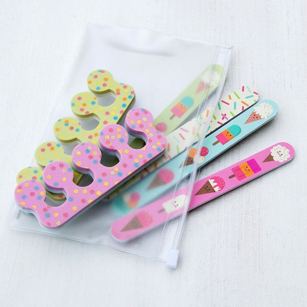 Ice Cream Nail Care Kit
