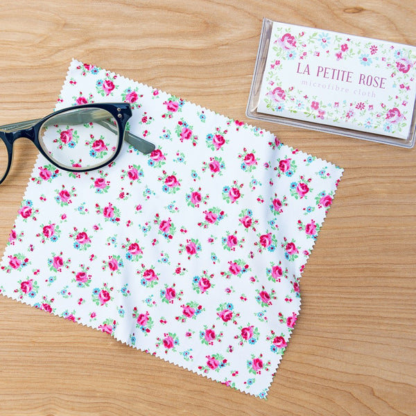 La Petite Rose Glasses Cleaning Cloth