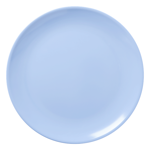 Blue Melamine Pizza Plate