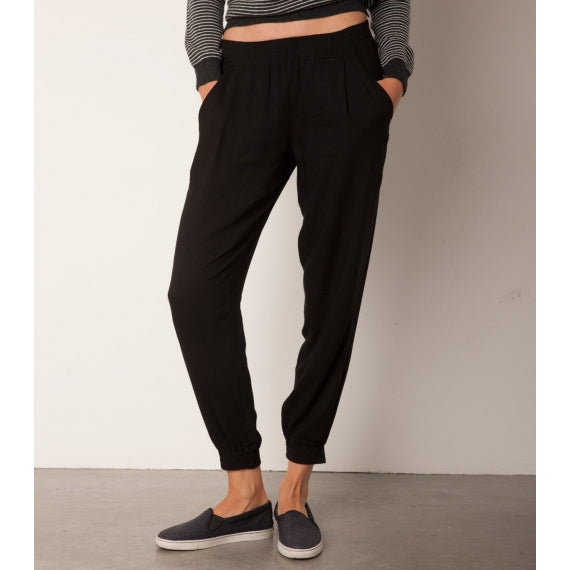 Black Ariana Jogger Trousers