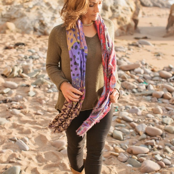 Wool & Silk Scarves