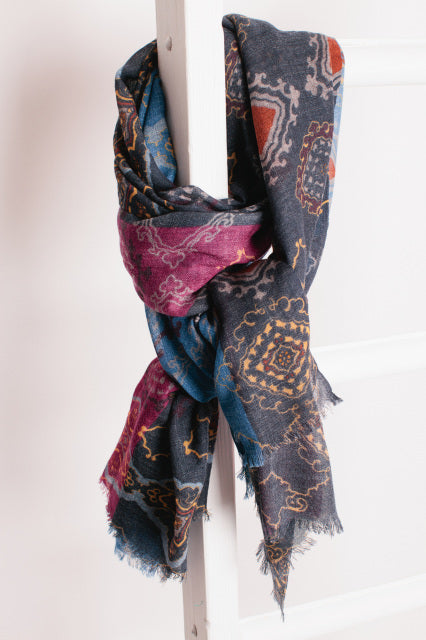Arabian Nights Fine Wool Scarf