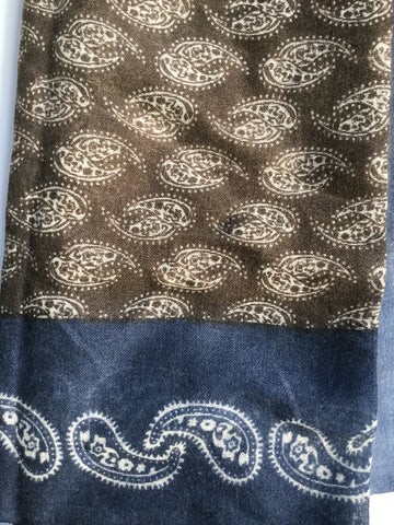 Paisley Fine Wool Scarf
