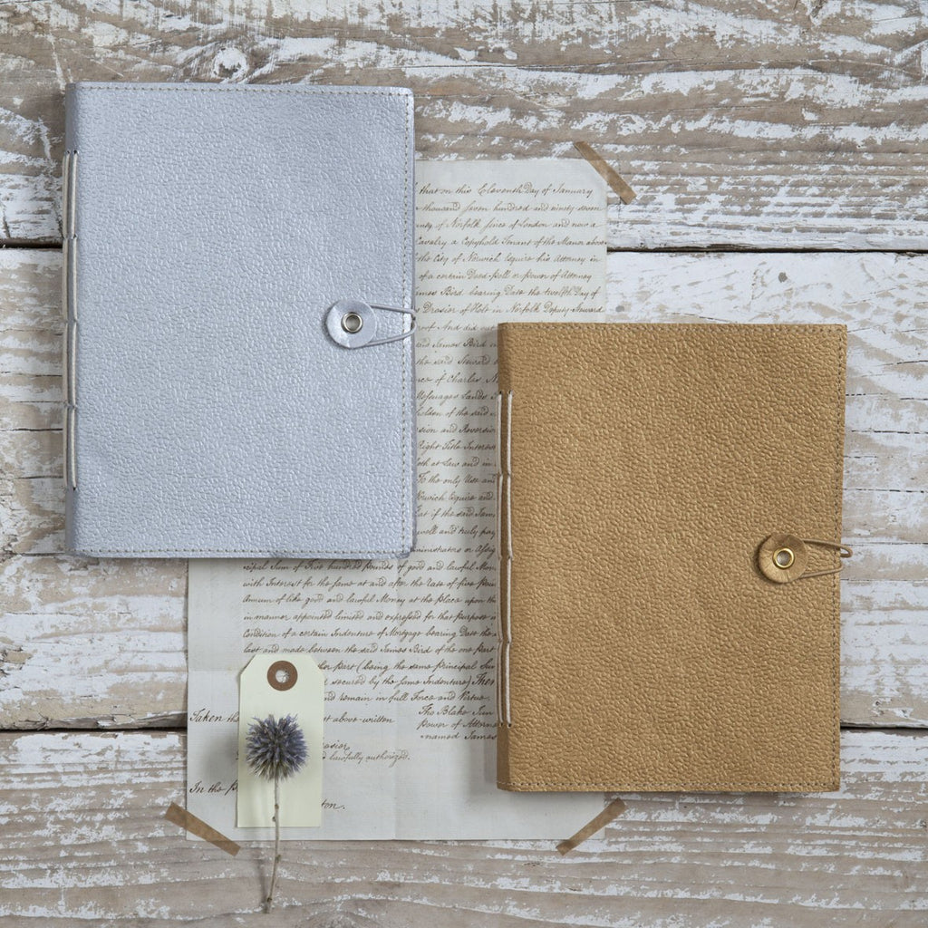 Gold Hand Stitched Notebook