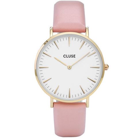 Pink La Boheme Rose Gold CLUSE Watch