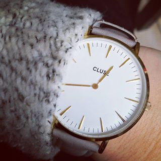 Grey La Boheme Gold CLUSE Watch