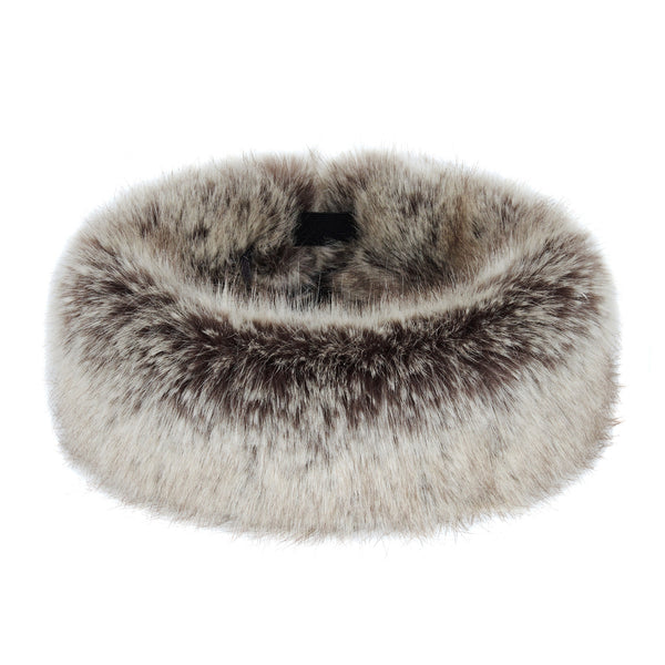 Truffle Faux Fur Children's Huff