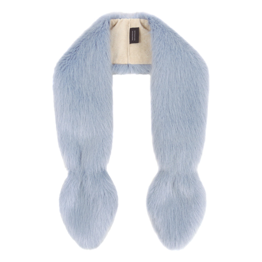Blue Children's Vixen Faux Fur Scarf