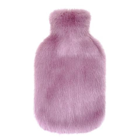 Heather Faux Fur Hot Water Bottle