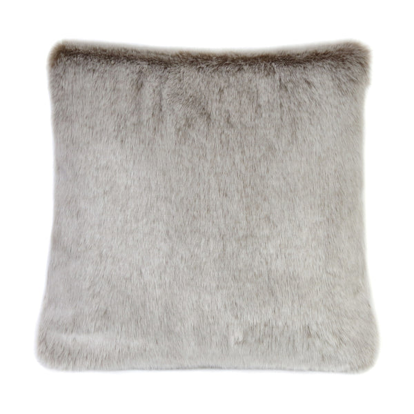 Latte Faux Fur Cushion