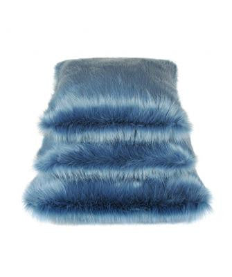 Marine Faux Fur Cushion